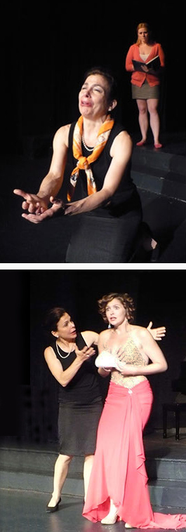 <em>Master Class</em> directed by Shauna Kanter at Phoenicia International Festival of the Voice, Phoenicia, NY