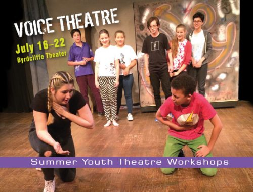 Summer Youth Theatre Workshops 2018